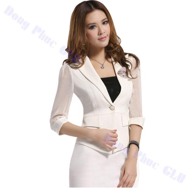 dong phuc vest nu 23 áo sơ mi nữ đồng phục công sở