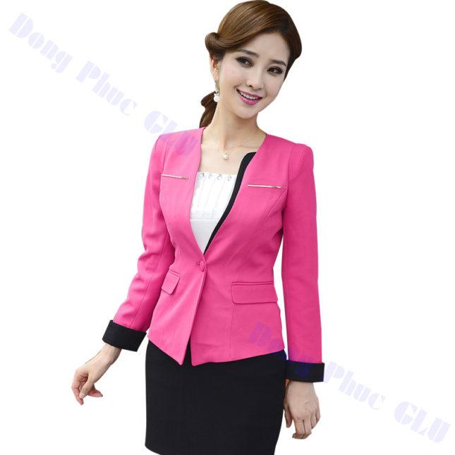 dong phuc vest nu 25 áo sơ mi nữ đồng phục công sở