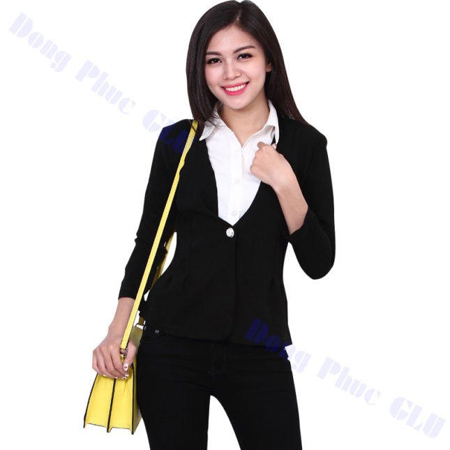 dong phuc vest nu 28 áo sơ mi nữ đồng phục công sở