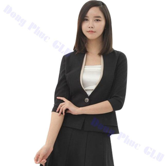 dong phuc vest nu 37 áo sơ mi nữ đồng phục công sở