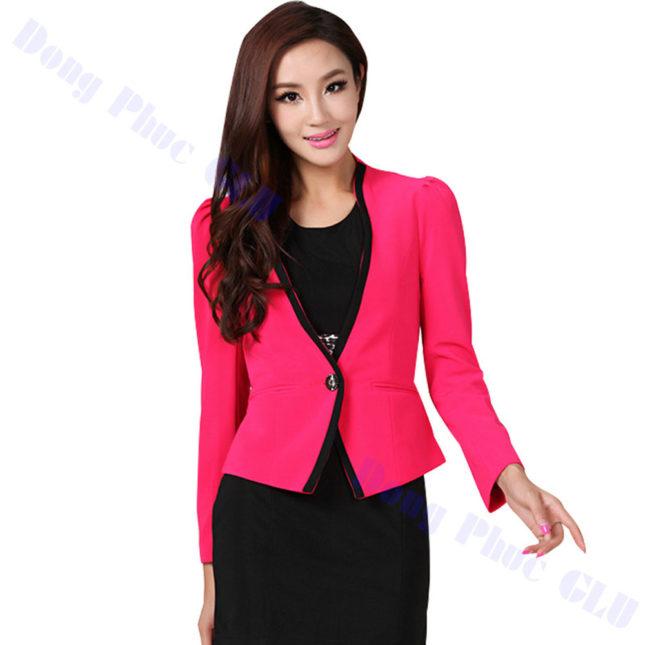 dong phuc vest nu 43 áo sơ mi nữ đồng phục công sở