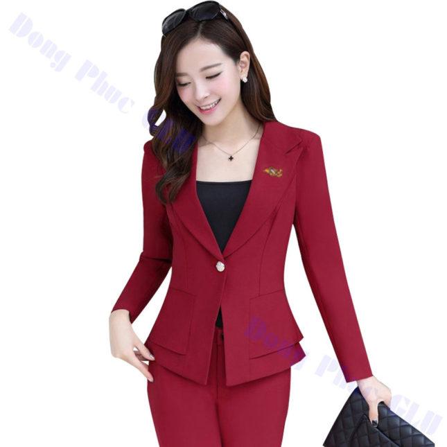 dong phuc vest nu 45 áo sơ mi nữ đồng phục công sở