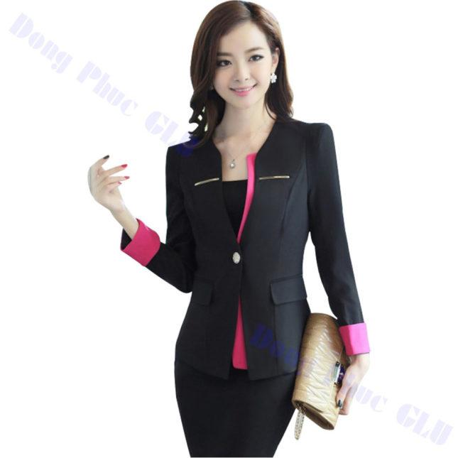dong phuc vest nu 46 áo sơ mi nữ đồng phục công sở
