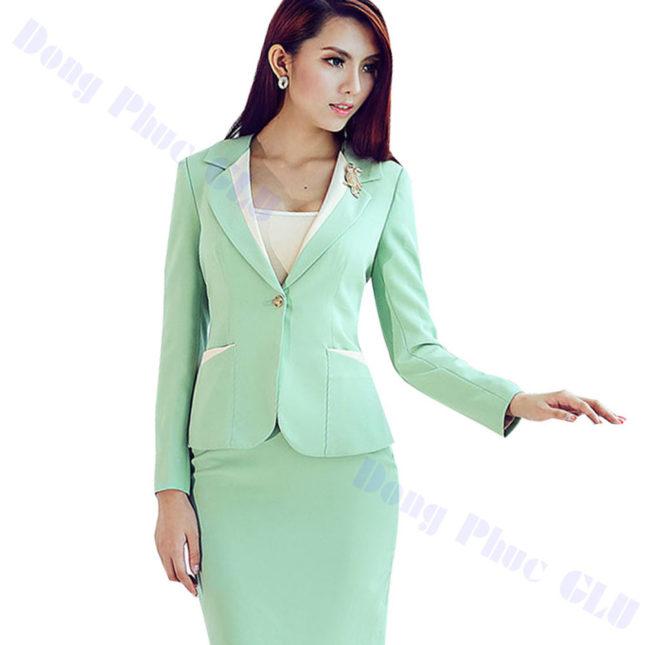 dong phuc vest nu 48 áo sơ mi nữ đồng phục công sở
