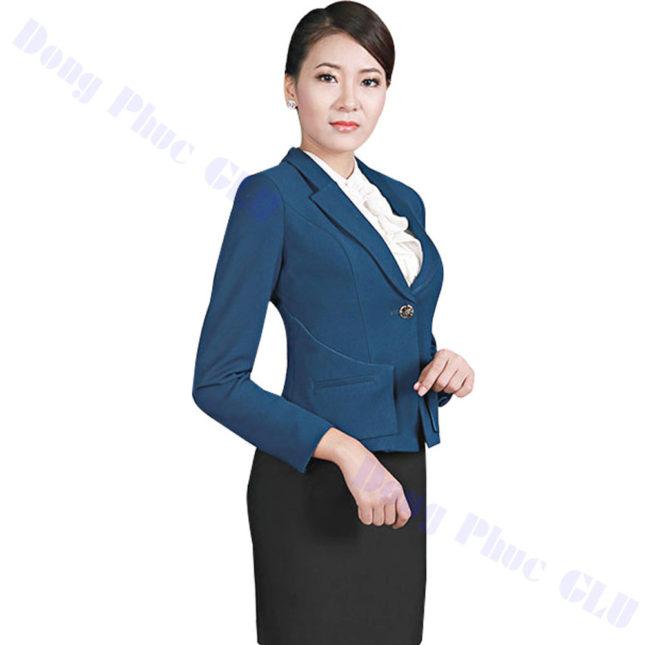dong phuc vest nu 49 áo sơ mi nữ đồng phục công sở