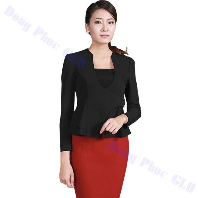 dong phuc vest nu 51 áo sơ mi nữ đồng phục công sở