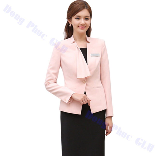 dong phuc vest nu 52 áo sơ mi nữ đồng phục công sở