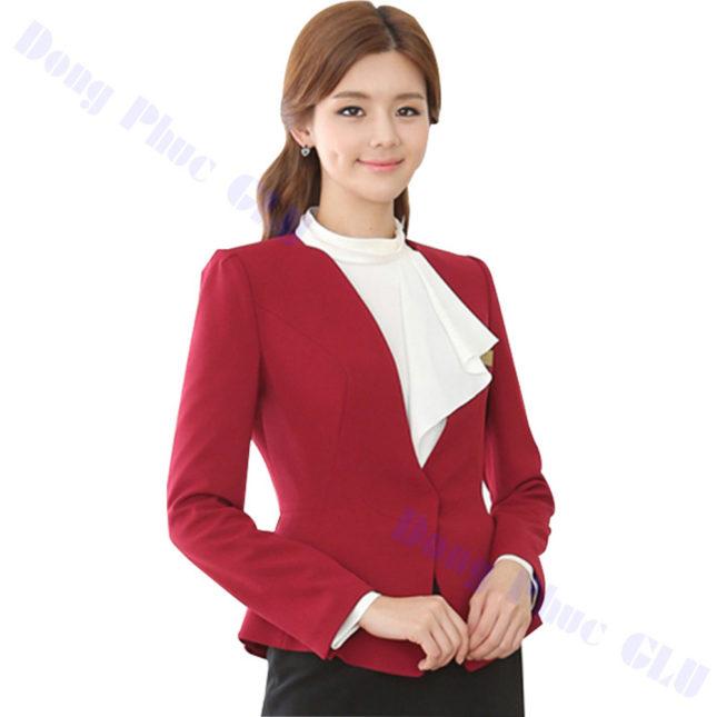 dong phuc vest nu 53 áo sơ mi nữ đồng phục công sở