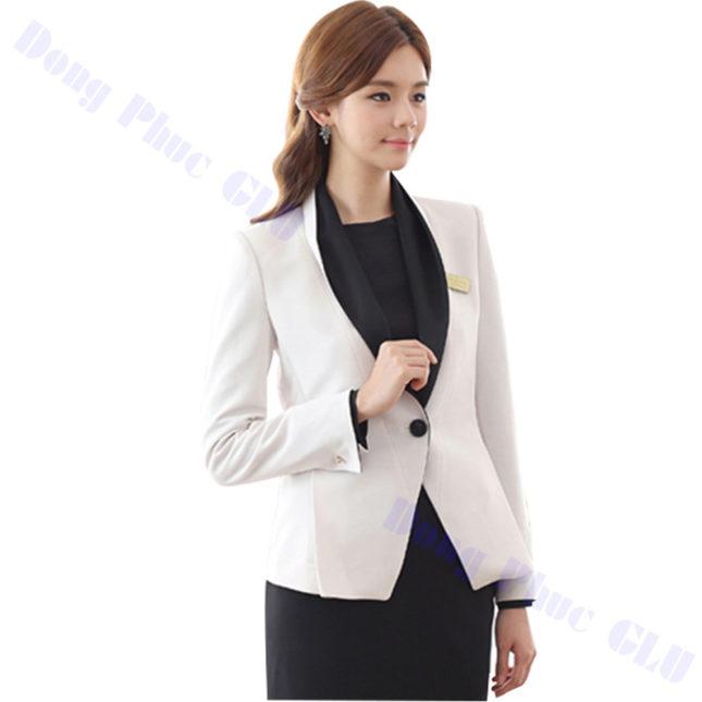 dong phuc vest nu 55 áo sơ mi nữ đồng phục công sở