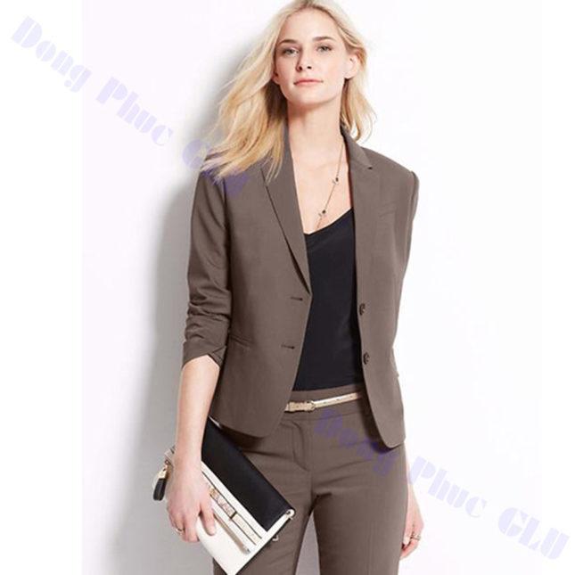 dong phuc vest nu 59 áo sơ mi nữ đồng phục công sở