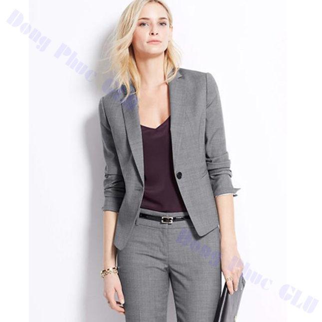 dong phuc vest nu 61 áo sơ mi nữ đồng phục công sở