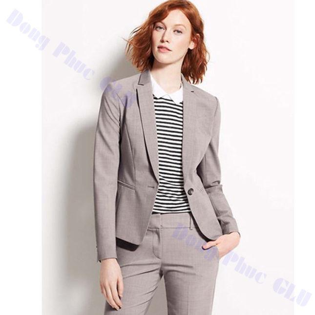 dong phuc vest nu 62 áo sơ mi nữ đồng phục công sở