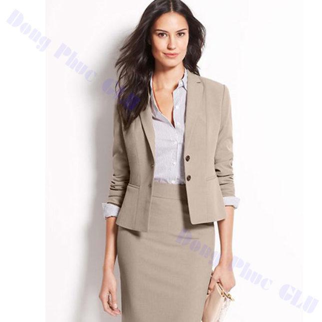 dong phuc vest nu 63 áo sơ mi nữ đồng phục công sở