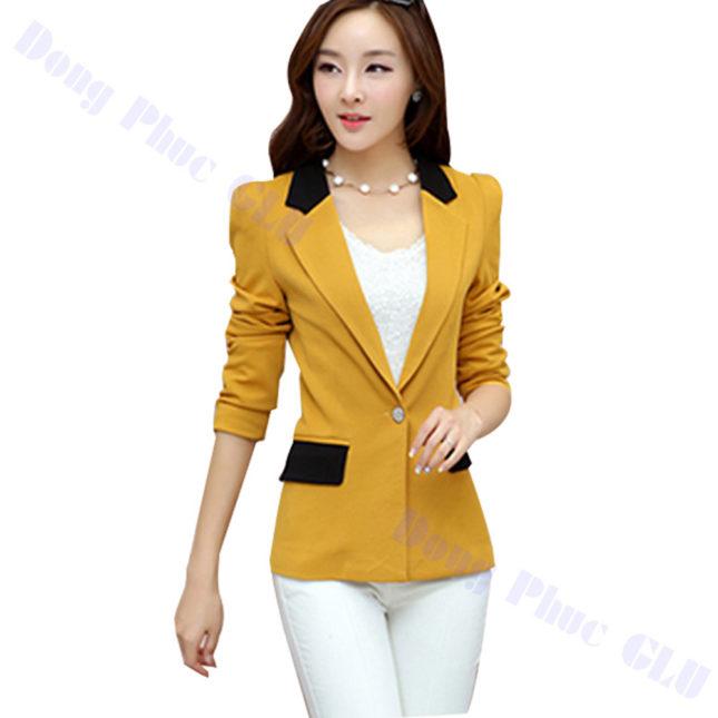 dong phuc vest nu 64 áo sơ mi nữ đồng phục công sở