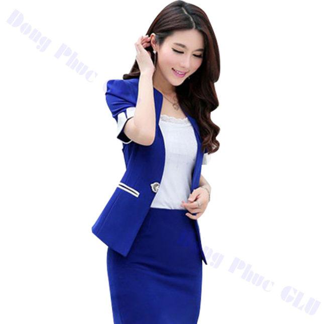 dong phuc vest nu 67 áo sơ mi nữ đồng phục công sở