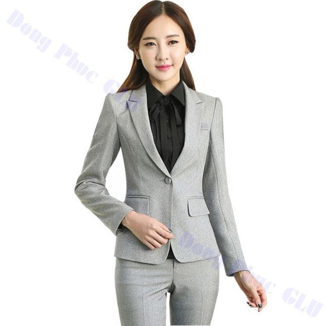 dong phuc vest nu 76 áo sơ mi nữ đồng phục công sở
