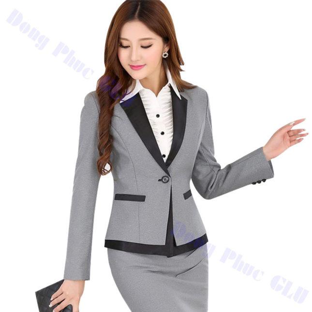 dong phuc vest nu 78 áo sơ mi nữ đồng phục công sở