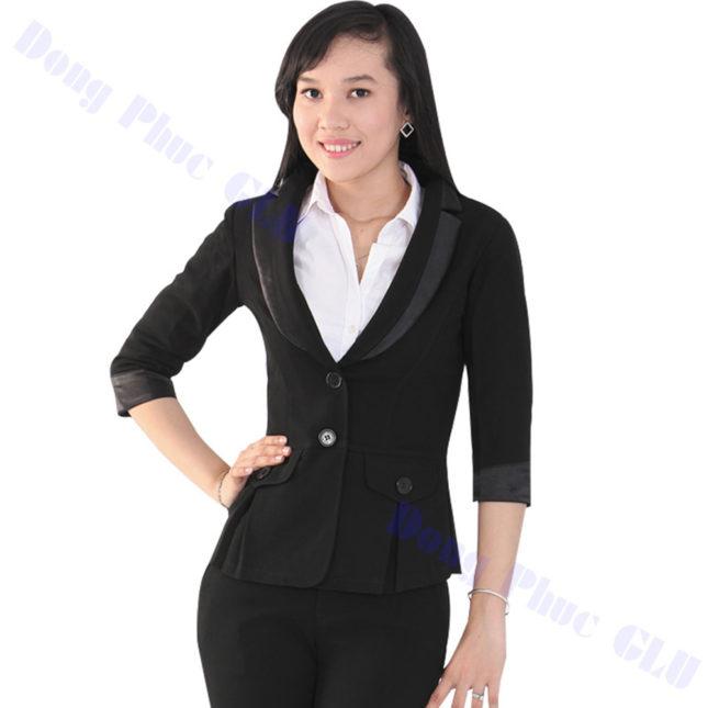 dong phuc vest nu 79 áo sơ mi nữ đồng phục công sở