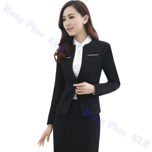 dong phuc vest nu 81 áo sơ mi nữ đồng phục công sở