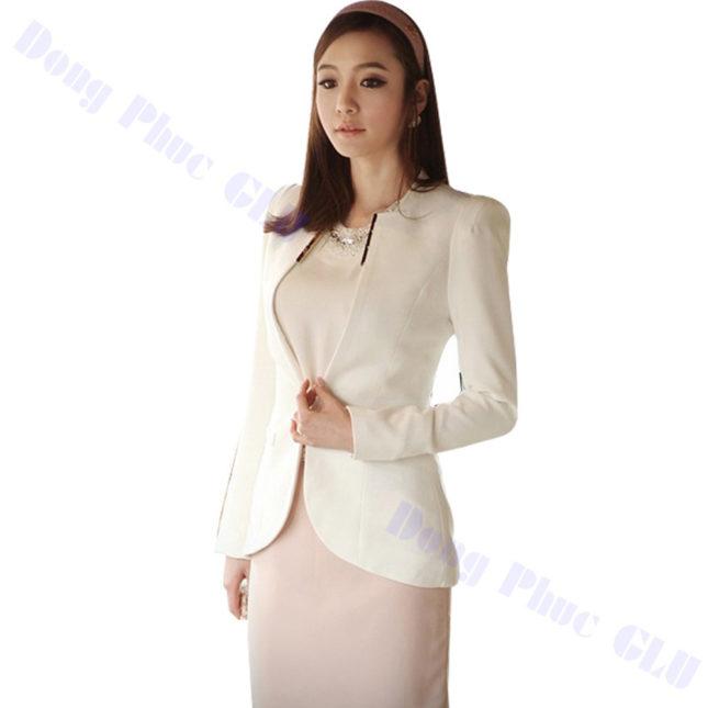 dong phuc vest nu 82 áo sơ mi nữ đồng phục công sở