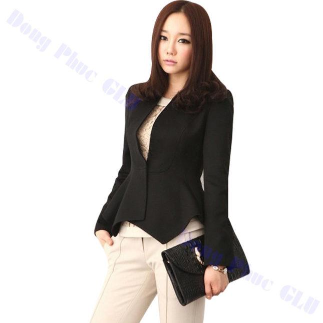 dong phuc vest nu 83 áo sơ mi nữ đồng phục công sở