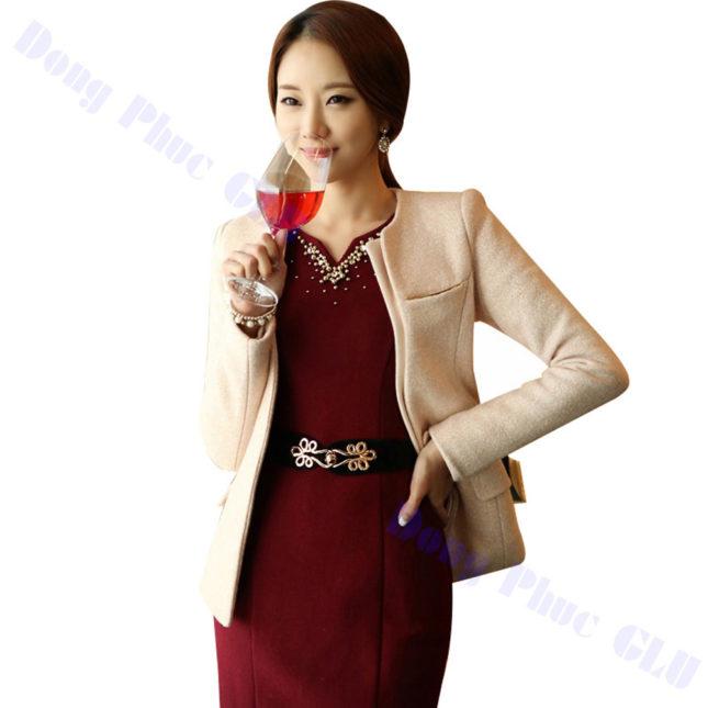 dong phuc vest nu 85 áo sơ mi nữ đồng phục công sở