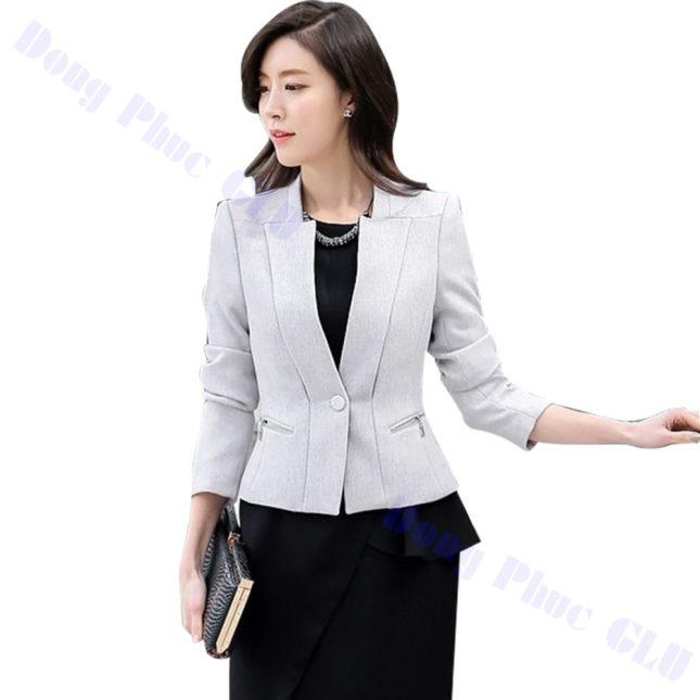 dong phuc vest nu 87 áo sơ mi nữ đồng phục công sở