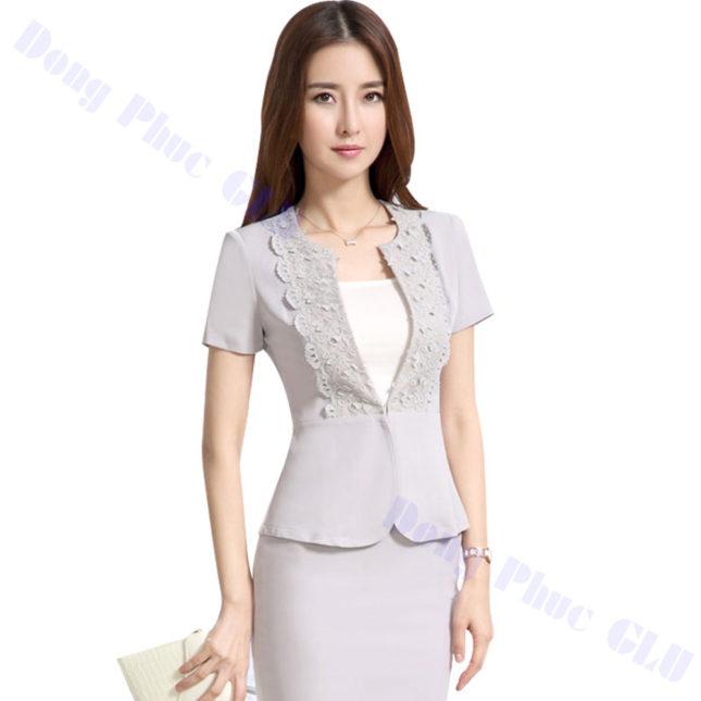 dong phuc vest nu 89 áo sơ mi nữ đồng phục công sở