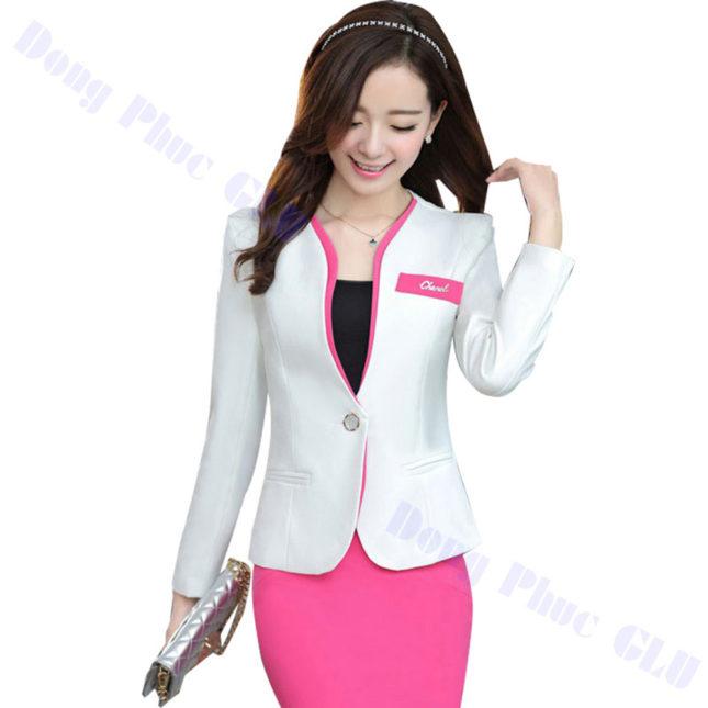 dong phuc vest nu 90 áo sơ mi nữ đồng phục công sở