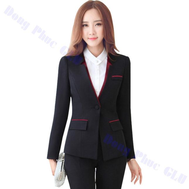 dong phuc vest nu 91 áo sơ mi nữ đồng phục công sở