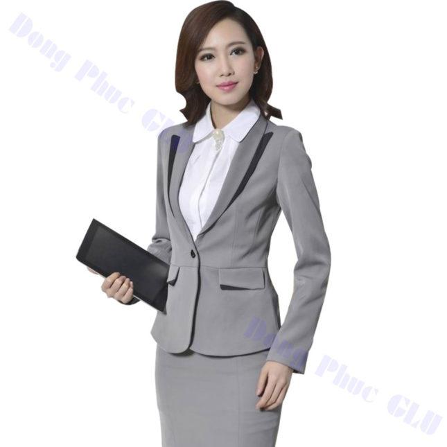 dong phuc vest nu 92 áo sơ mi nữ đồng phục công sở