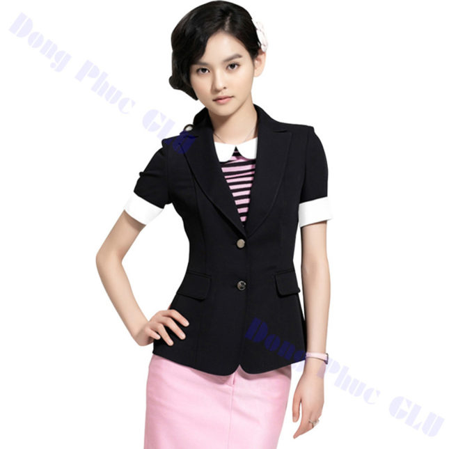 dong phuc vest nu 93 áo sơ mi nữ đồng phục công sở