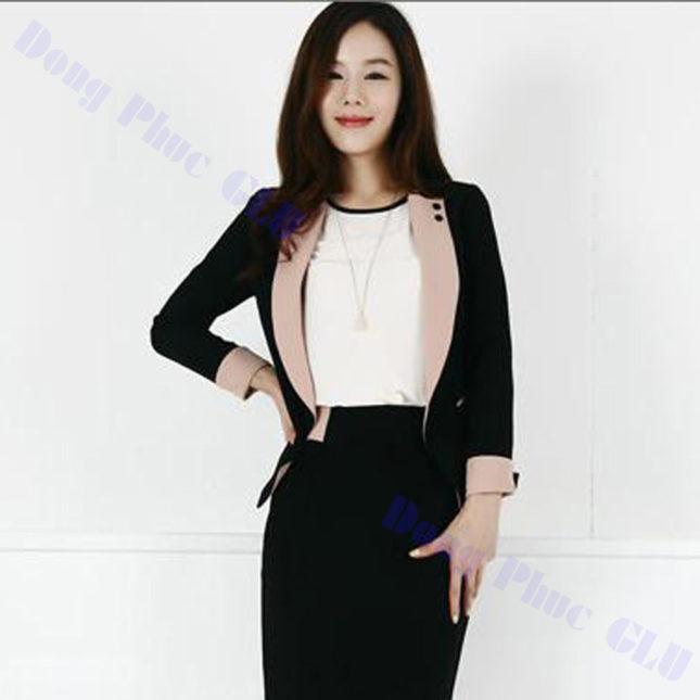 dong phuc vest nu 95 áo sơ mi nữ đồng phục công sở