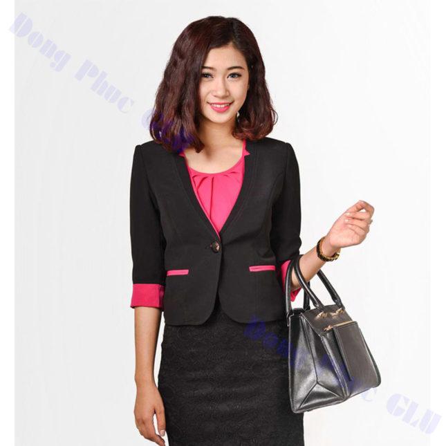 dong phuc vest nu 96 áo sơ mi nữ đồng phục công sở