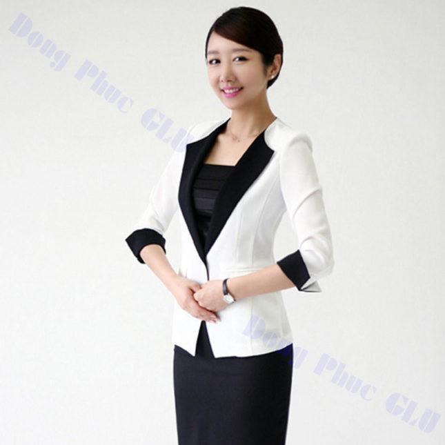 dong phuc vest nu 97 áo sơ mi nữ đồng phục công sở