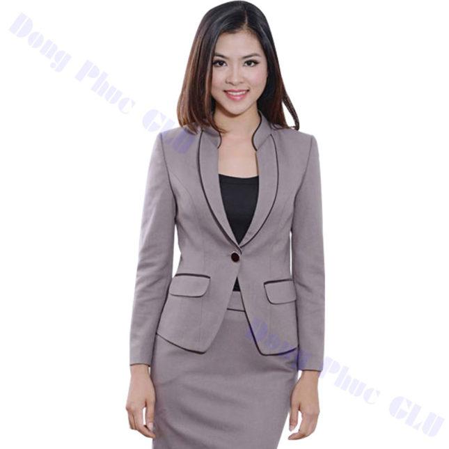 dong phuc vest nu 98 áo sơ mi nữ đồng phục công sở