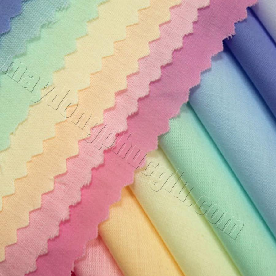 Vải kate silk nhiều màu