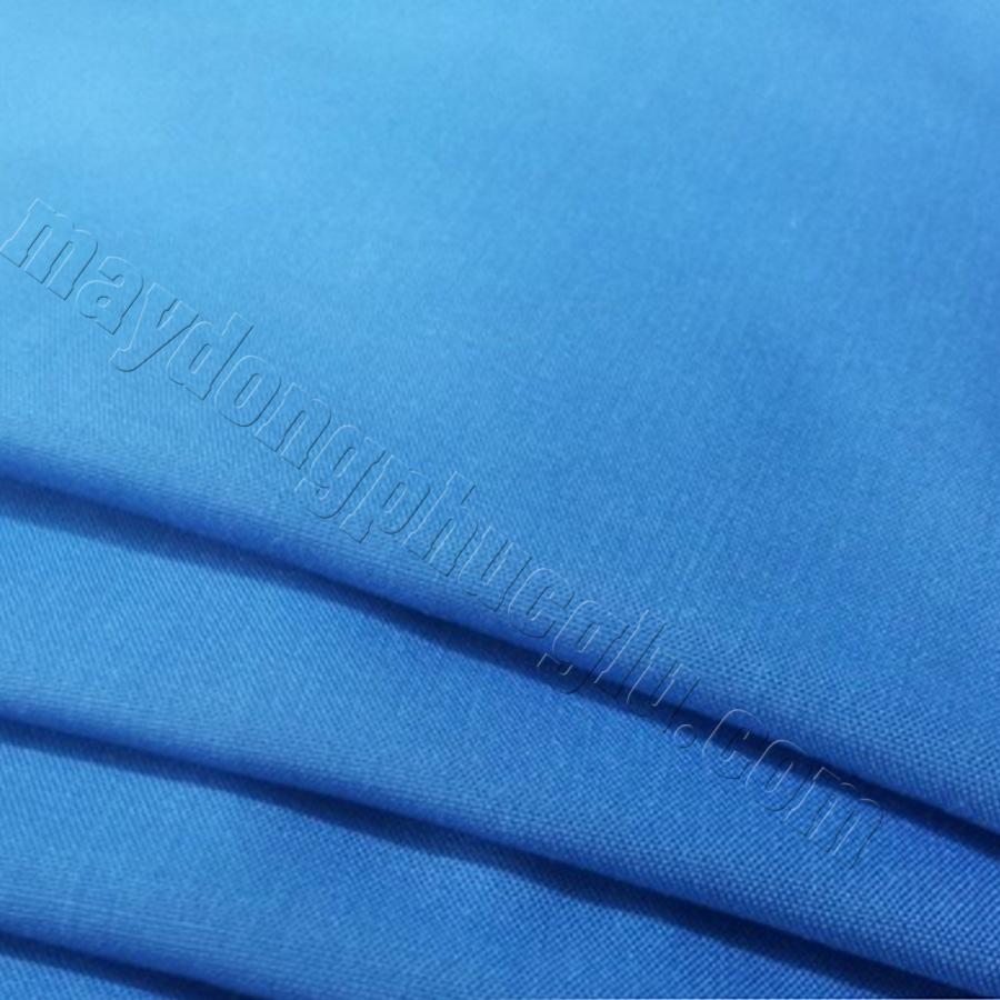 Vải kate silk xanh