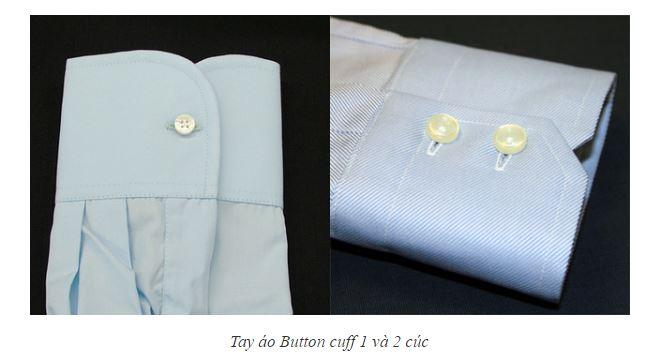 Tay áo Button cuff