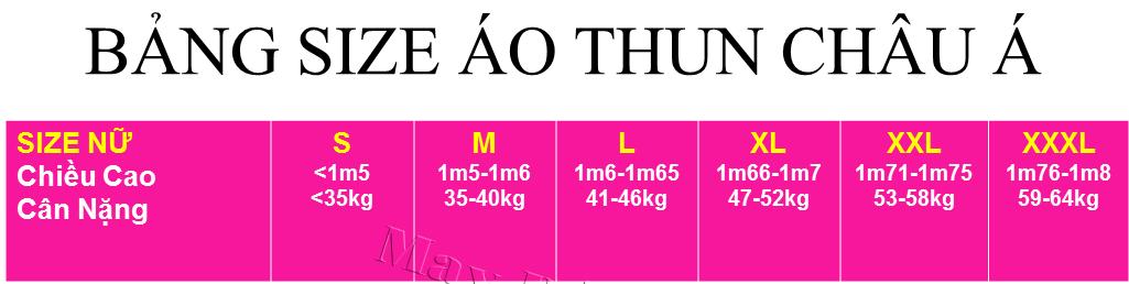 Screenshot 7 cách đo size áo thun