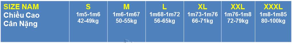 Screenshot 8 cách đo size áo thun