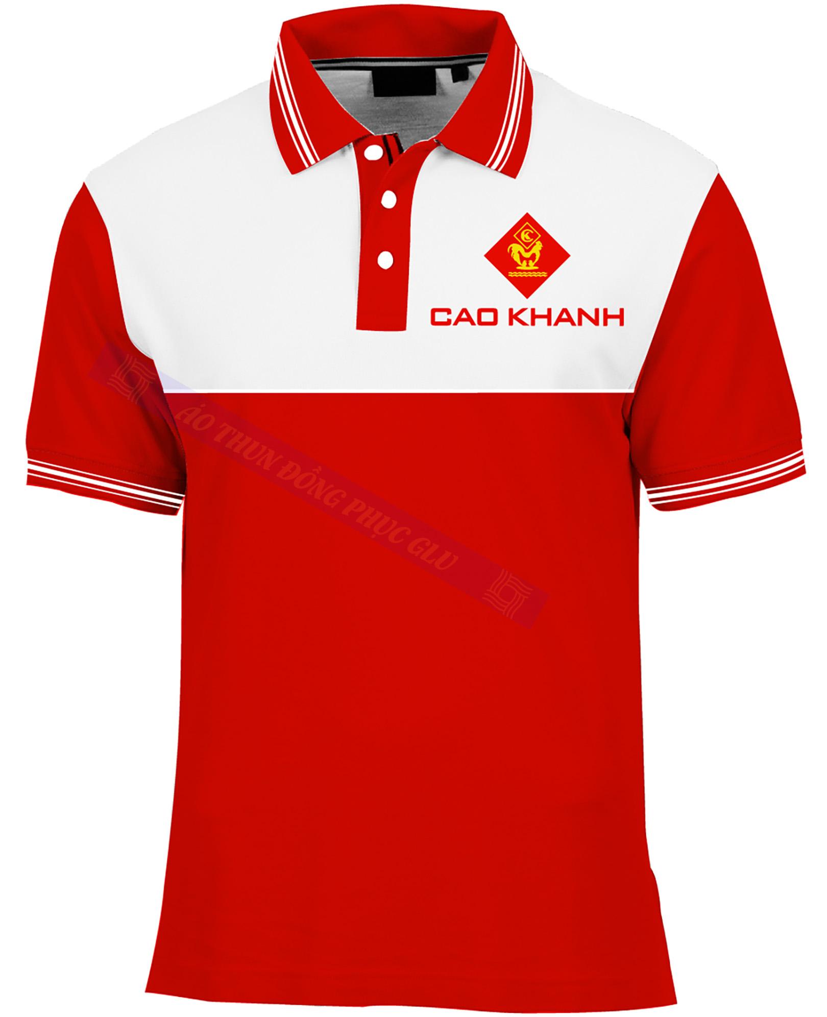AO THUN CAO KHANH AT345 áo thun đồng phục đẹp