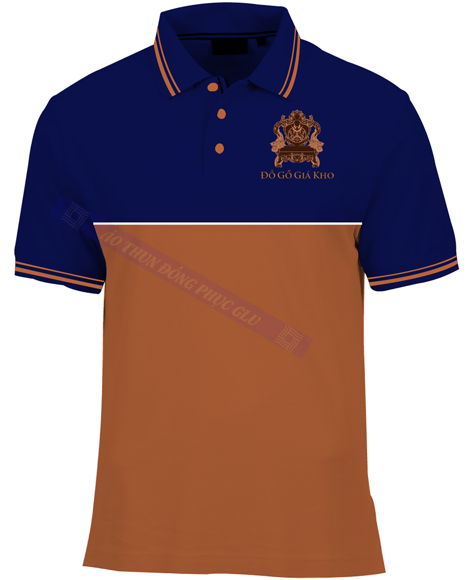 AO THUN DO GO GIA KHO AT356 áo thun đồng phục đẹp