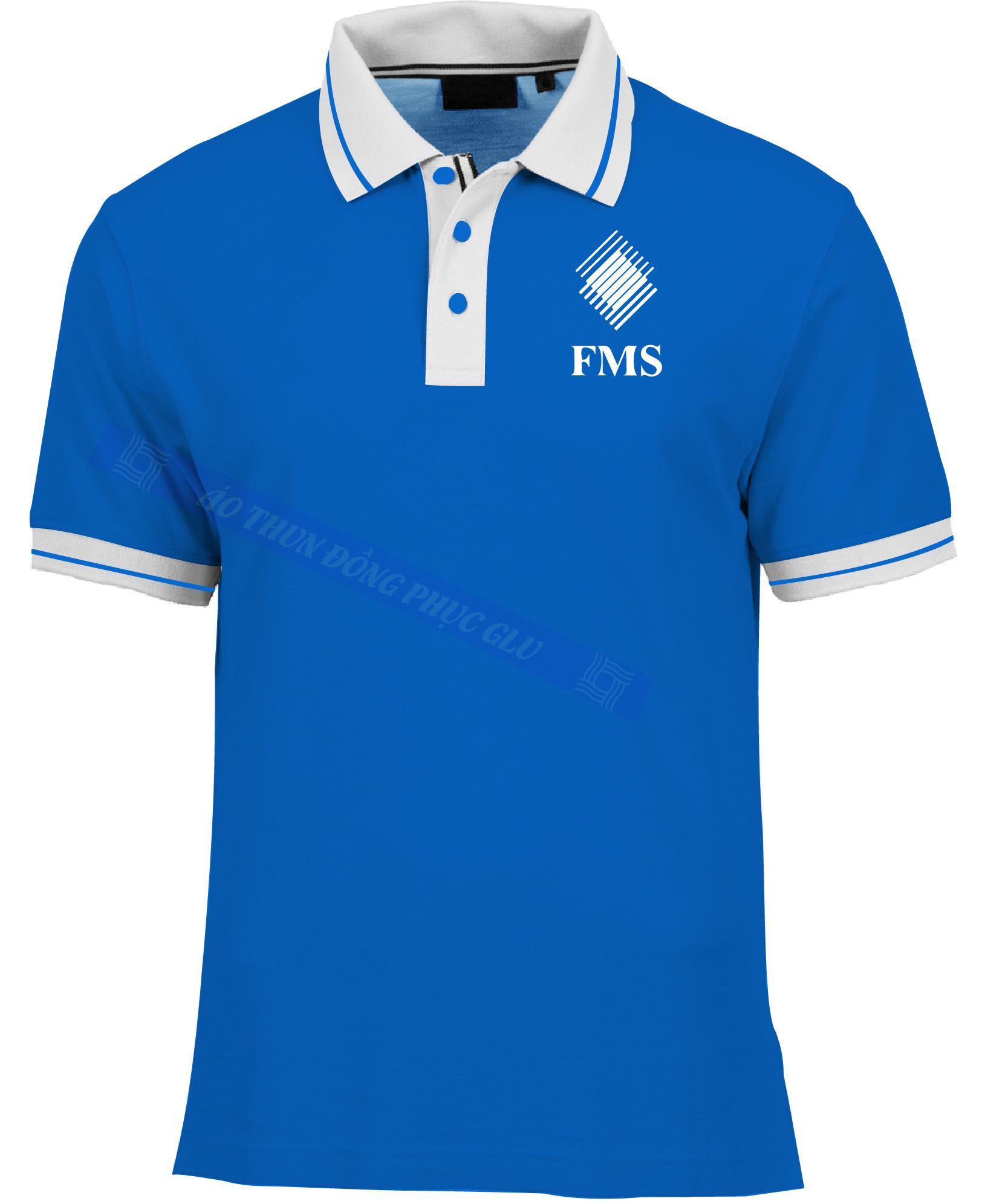 AO THUN FMS AT78 áo thun đồng phục đẹp