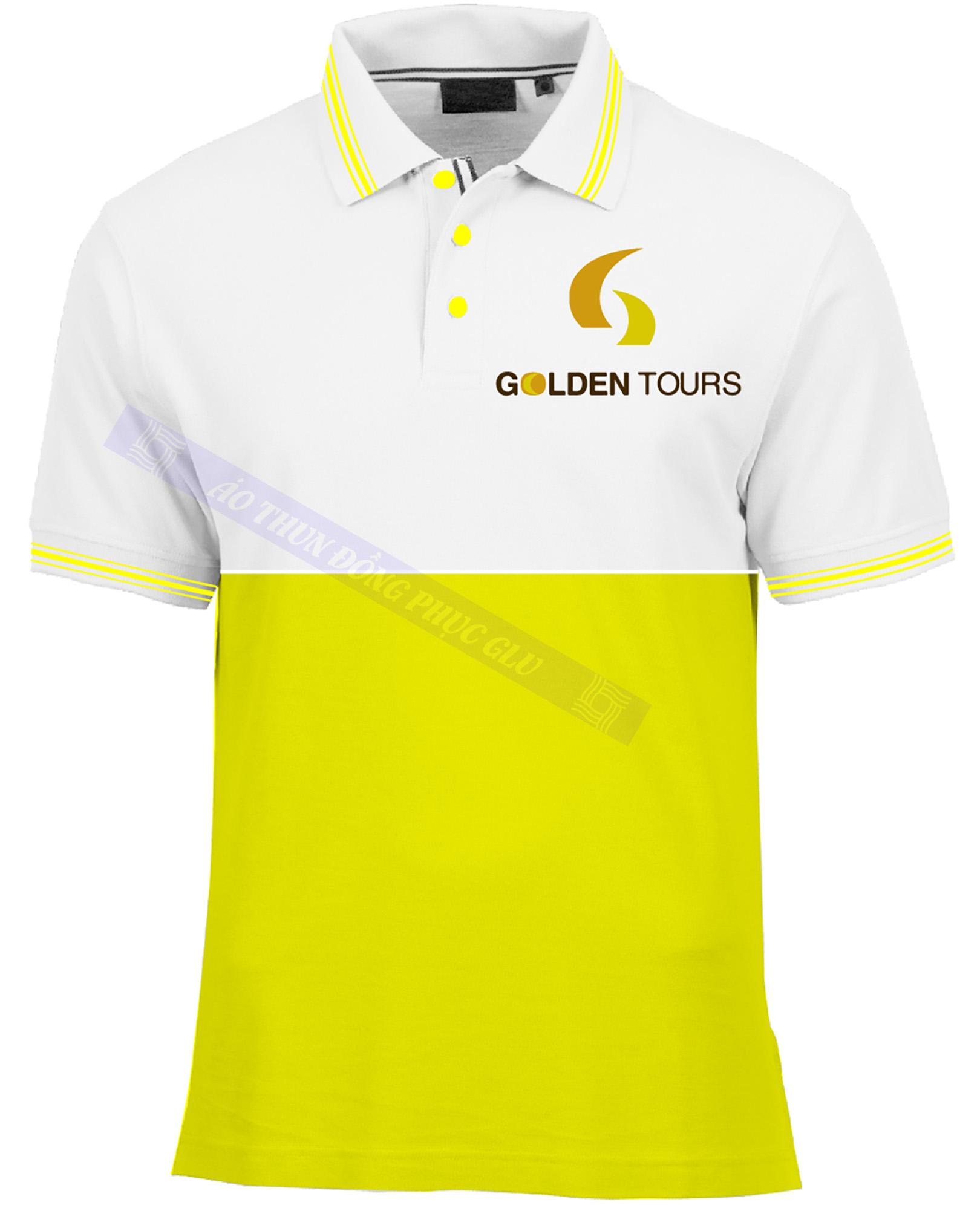AO THUN GOLDEN TOUR AT372 áo thun đồng phục đẹp