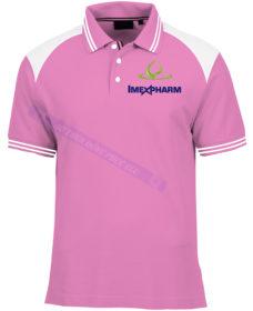 AO THUN INMEX PHARM AT377 áo thun đồng phục