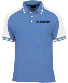AO THUN ITO VIET NAM AT380 áo thun đồng phục