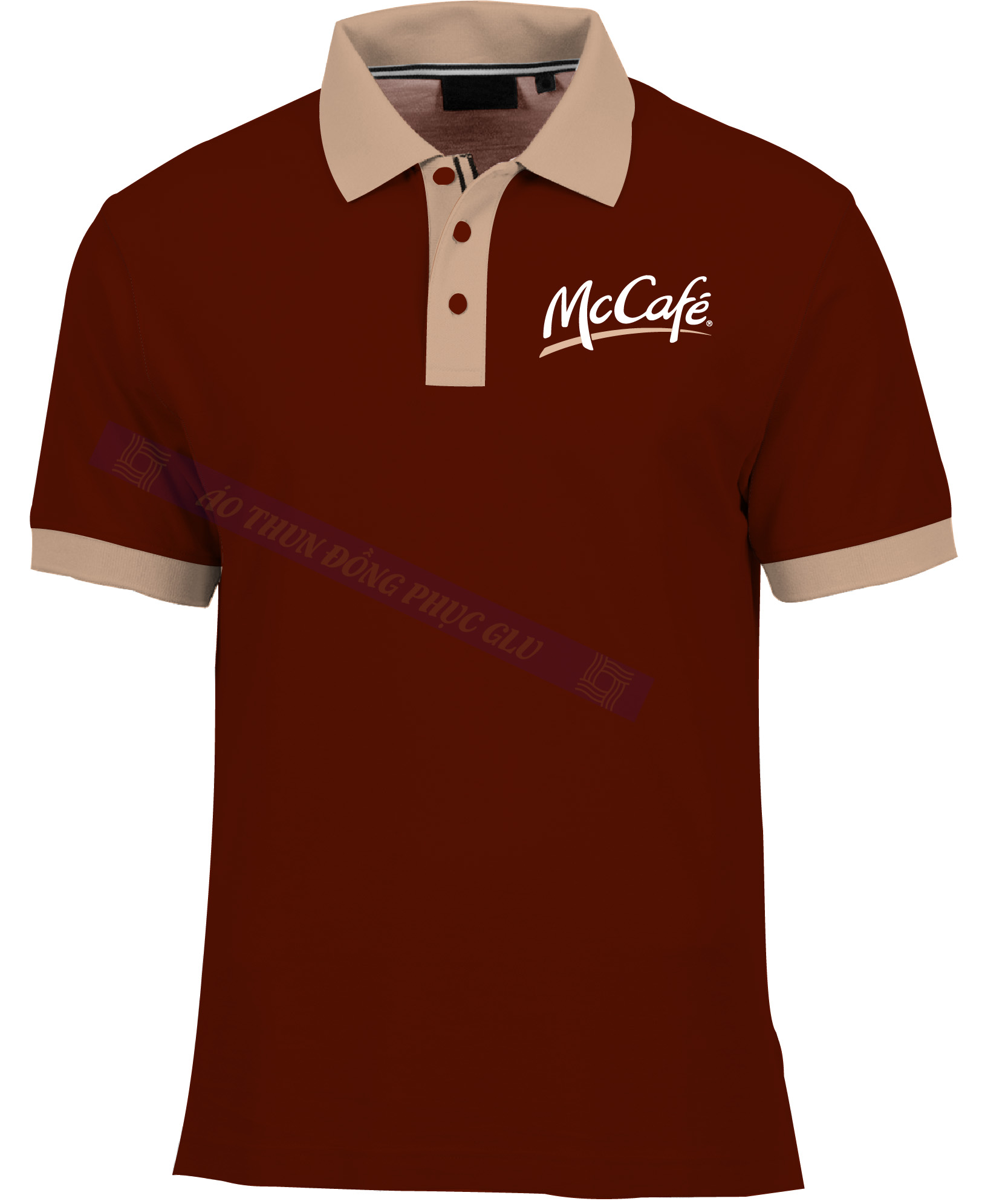 AO THUN MC CAFE AT160 áo thun đồng phục có cổ