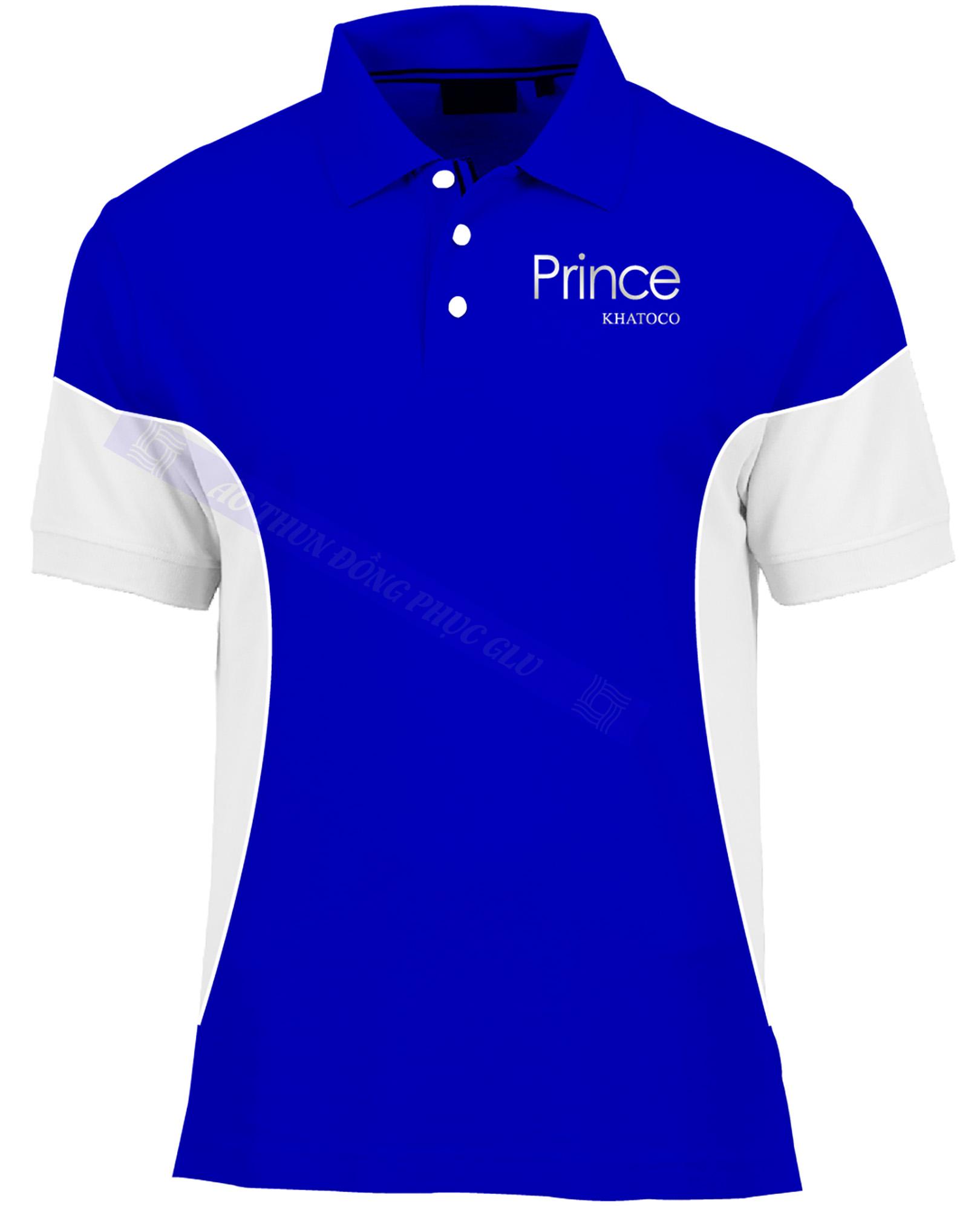 AO THUN PRINCE KHATOCO AT411 áo thun đồng phục có cổ