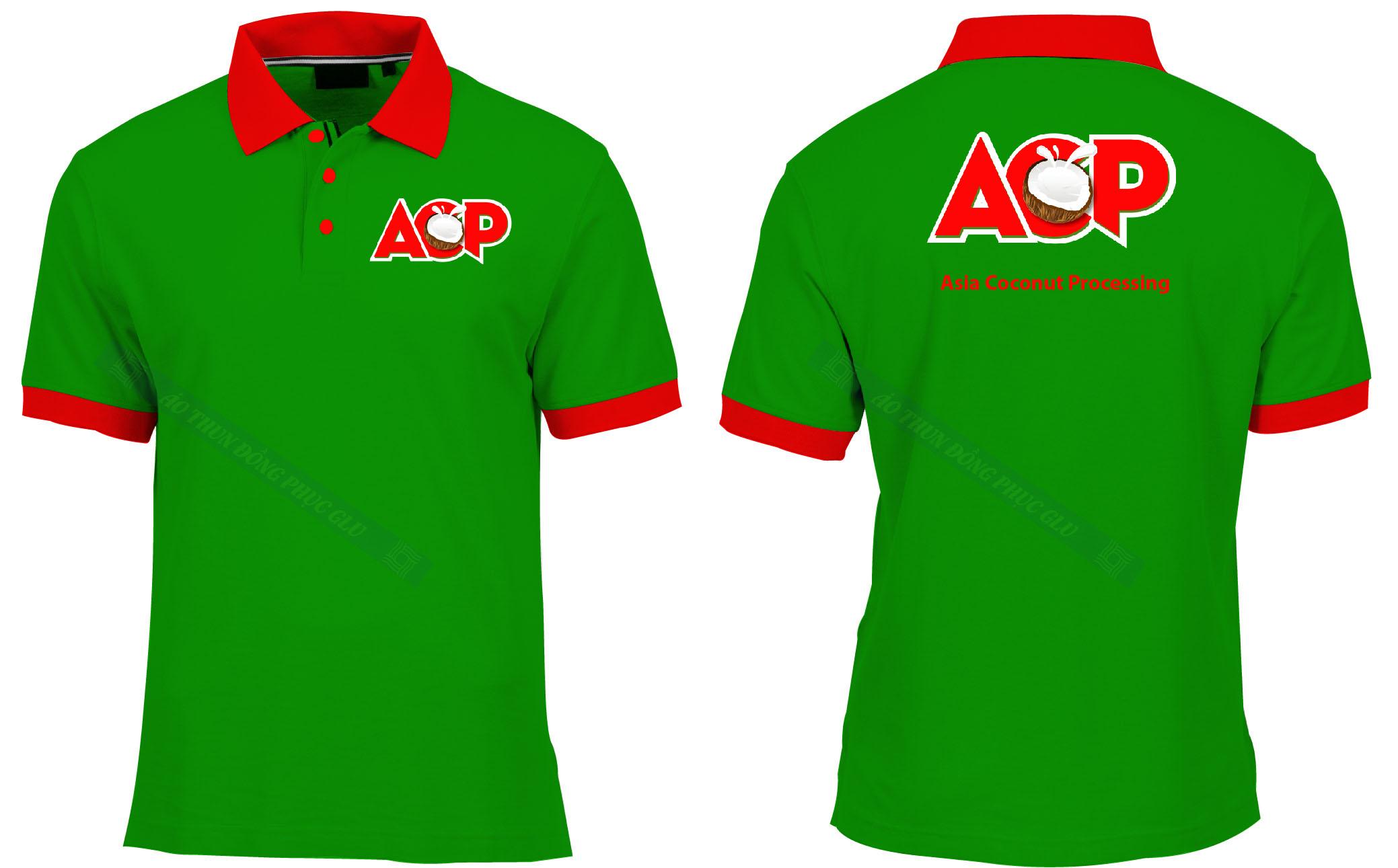 AO THUN ACP áo thun đồng phục đẹp